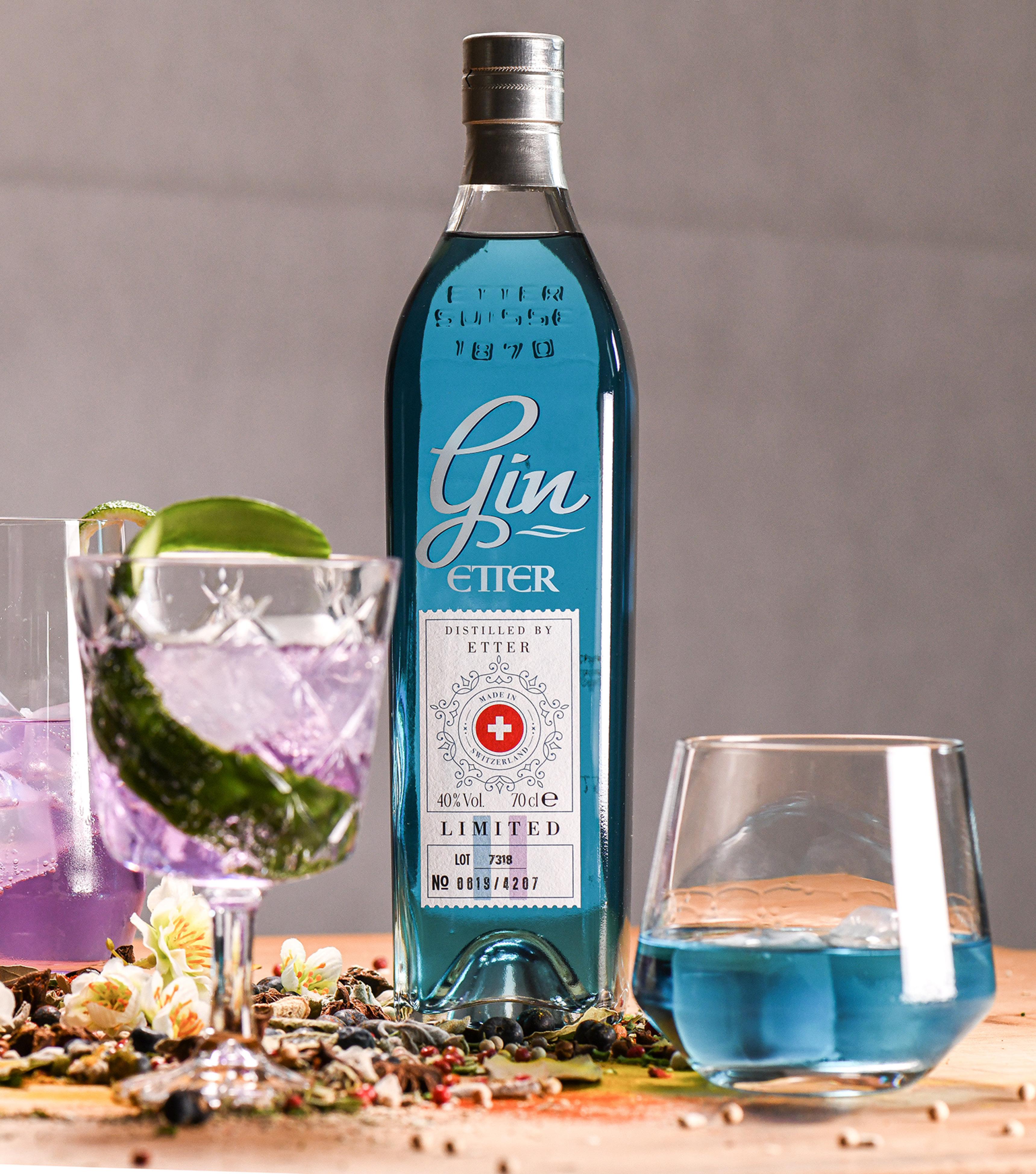Gin-Tasting mit Etter