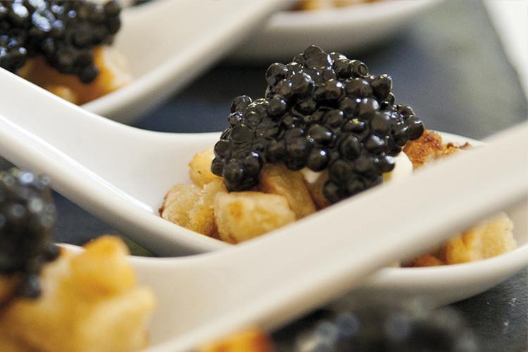 Kaviar-Genuss