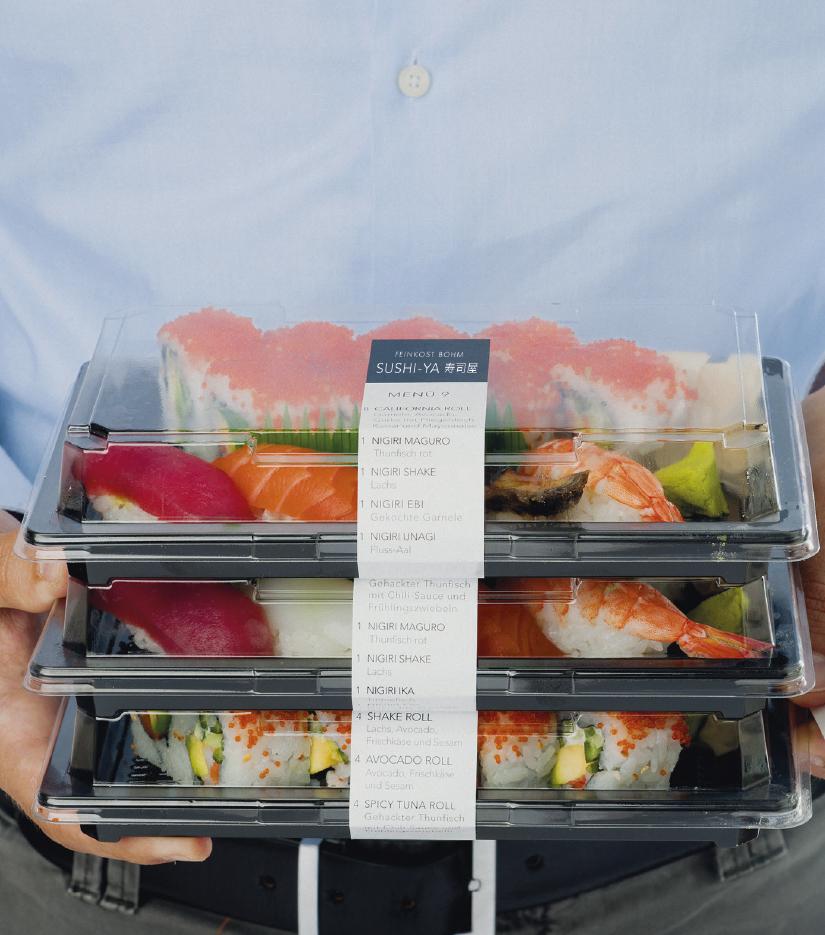 Sushi to-Go-Boxen für Unterwegs oder Zuhause