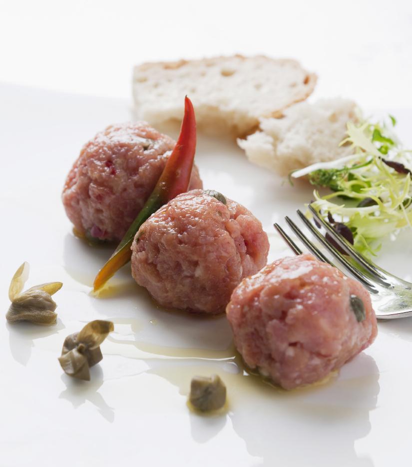Köstliche Gerichte mit Tatar