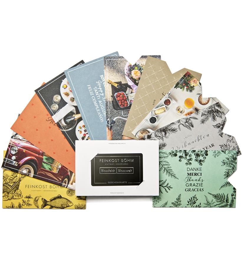 Feinkost Böhm Geschenkkarte