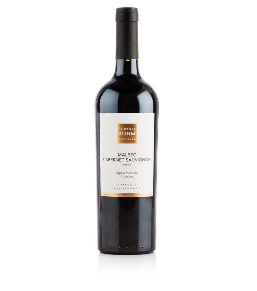 Feinkost Böhm Malbec Cabernet Sauvignon Rotwein 0,75l