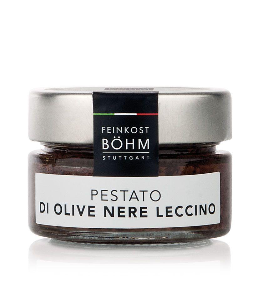 Feinkost Böhm Pestato di olive nere leccino Olivencreme 100g