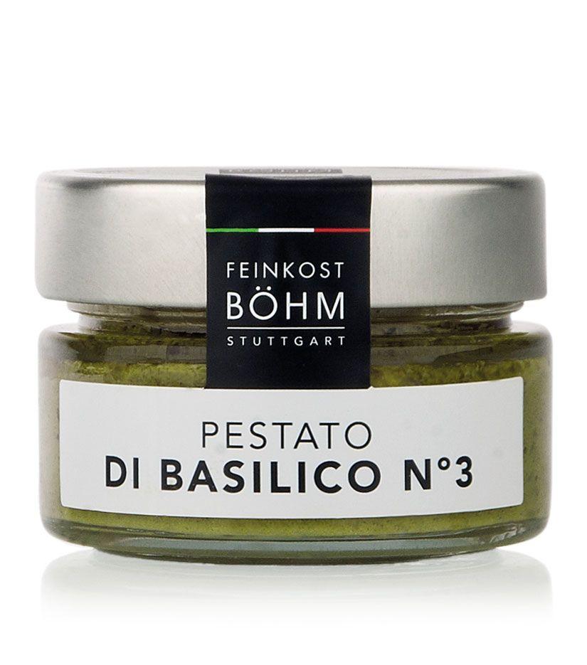Feinkost Böhm Pestato di basilico n°3 Basilikumcreme 100g
