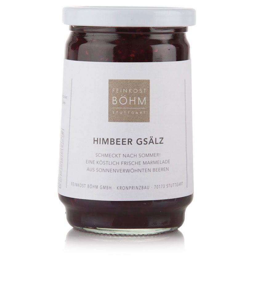 Feinkost Böhm Himbeer-Konfitüre Extra Gsälz 450g