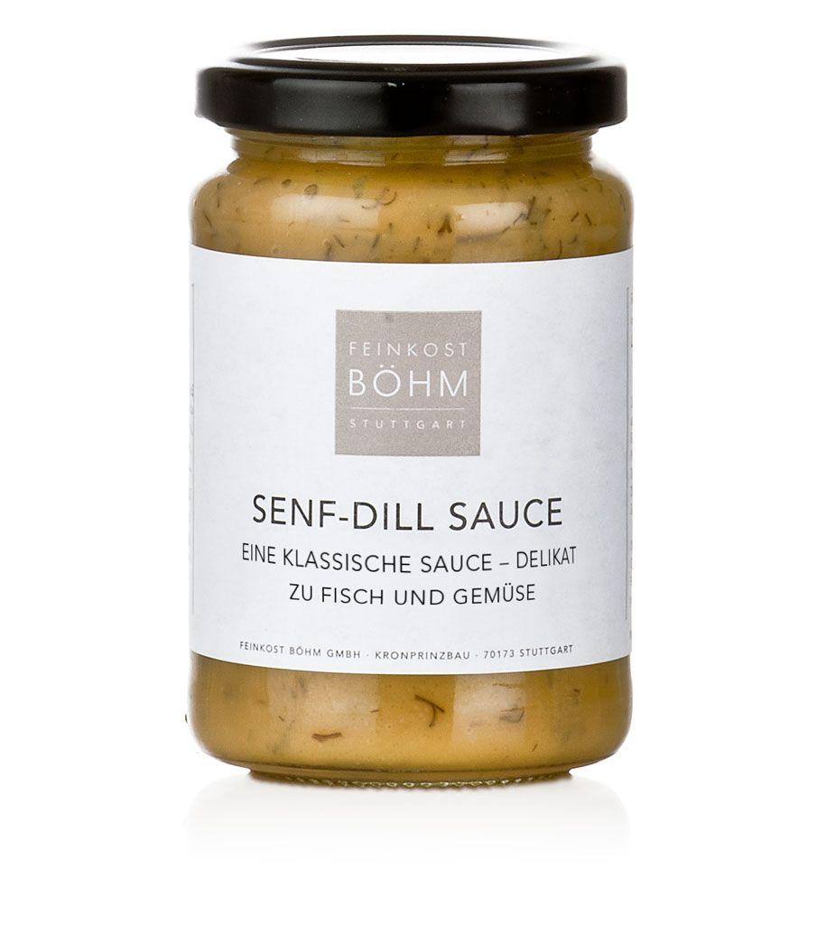 Feinkost Böhm Senf Dill Sauce 200ml