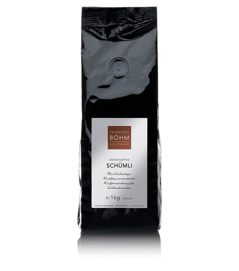 Feinkost Böhm Kaffee Schümli - ganze Bohnen 1kg