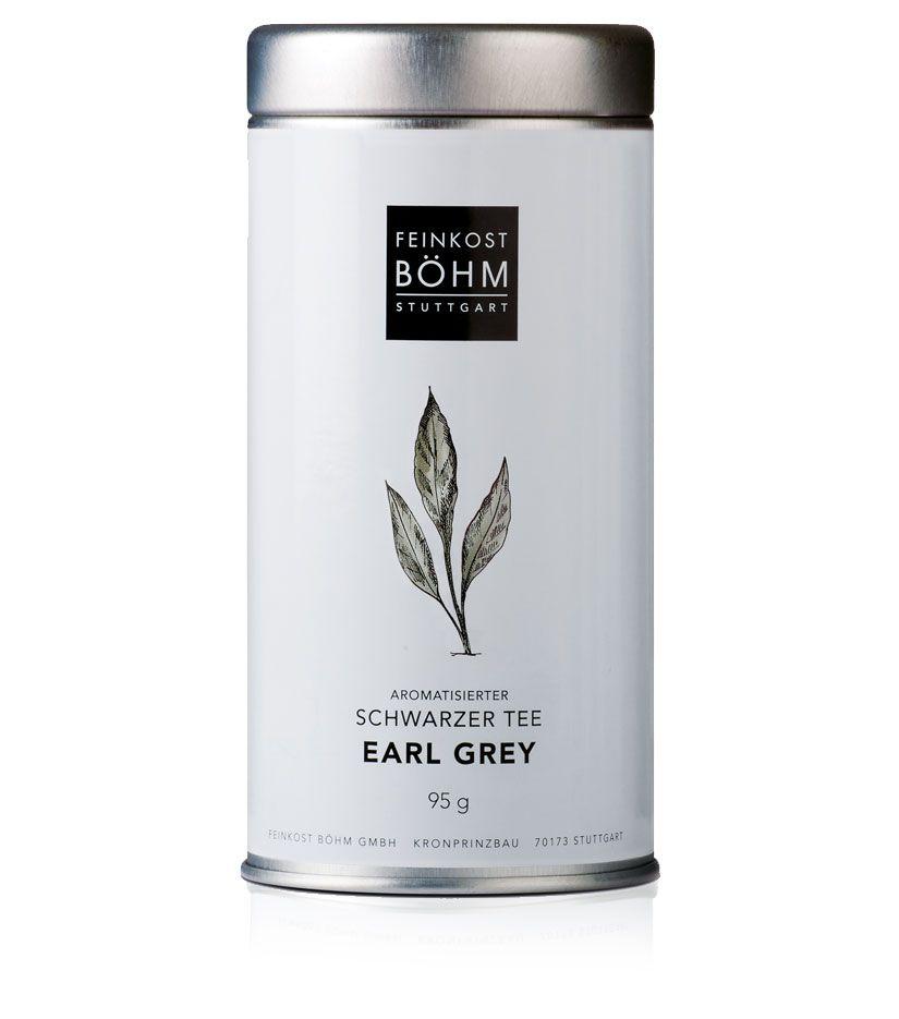 Feinkost Böhm Aromatisierter Schwarzer Tee Earl Grey 95g