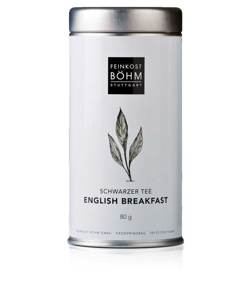 Feinkost Böhm Schwarzer Tee English Breakfast 80g