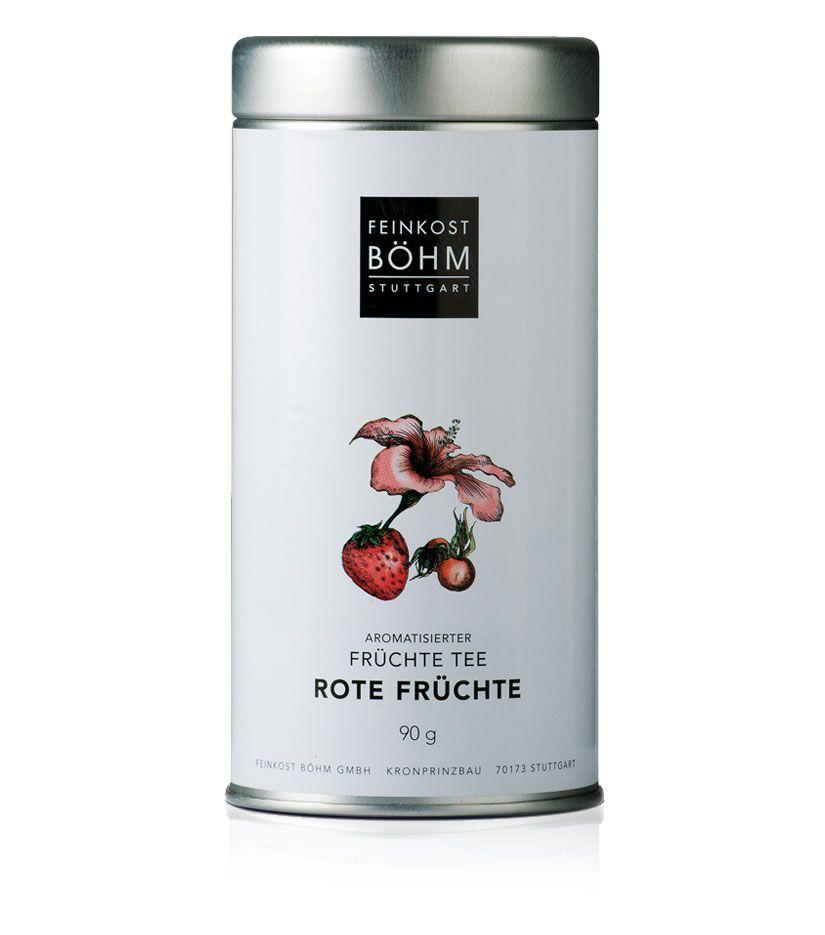 Feinkost Böhm Rote Früchte Aromatisierter Tee 90g
