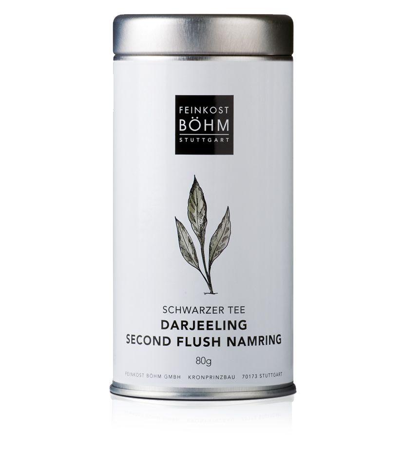 Feinkost Böhm Darjeeling Schwarzer Tee second flush namring 80g