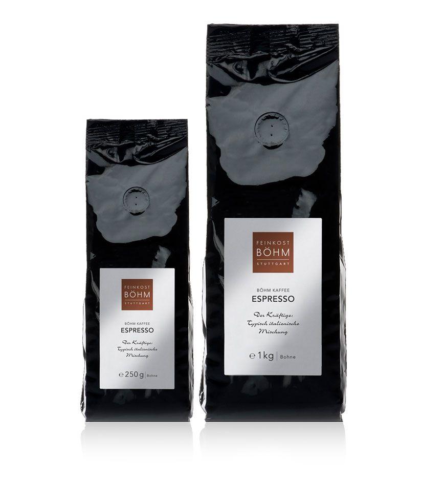 Feinkost Böhm Espresso - ganze Bohnen