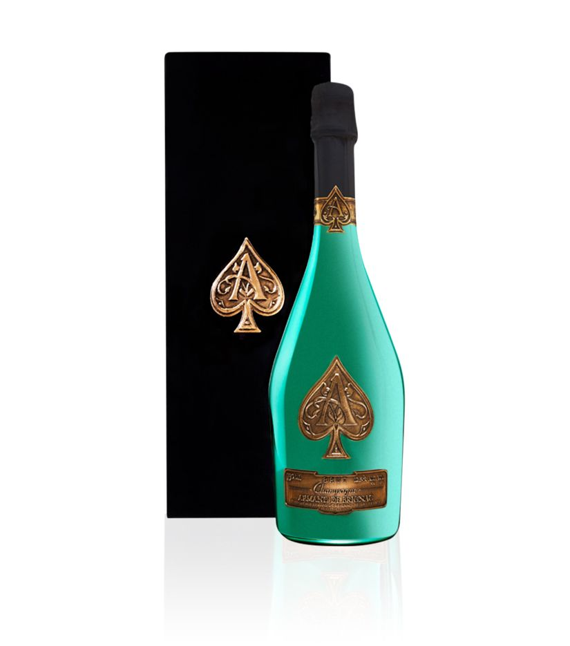 Armand de Brignac Champagner Limited Edition Green Bottle 0,75l