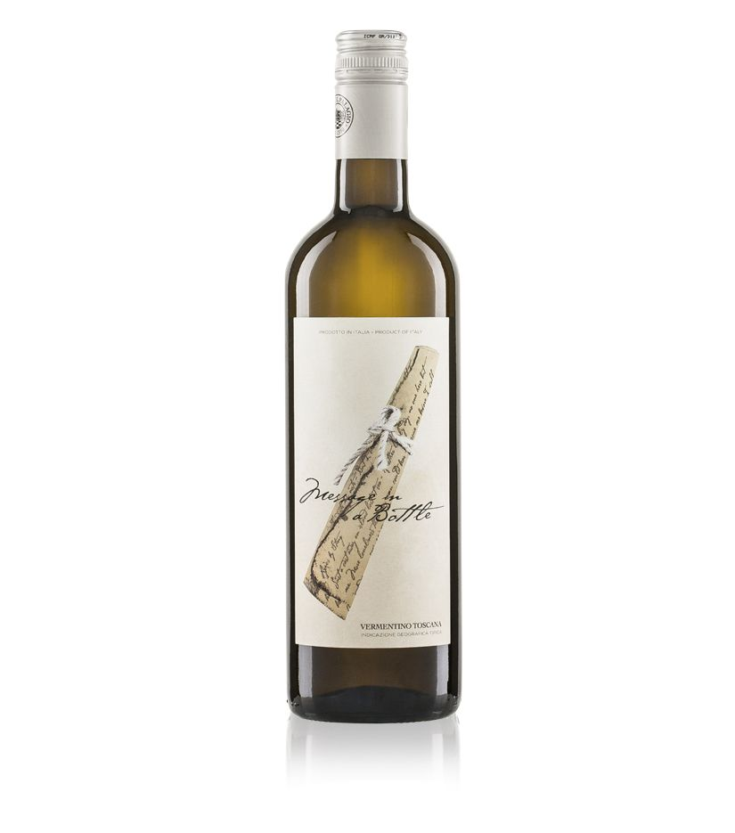 "Sting ""Message in a Bottle"" Bianco Toscana IGT Weißwein  0,75l"