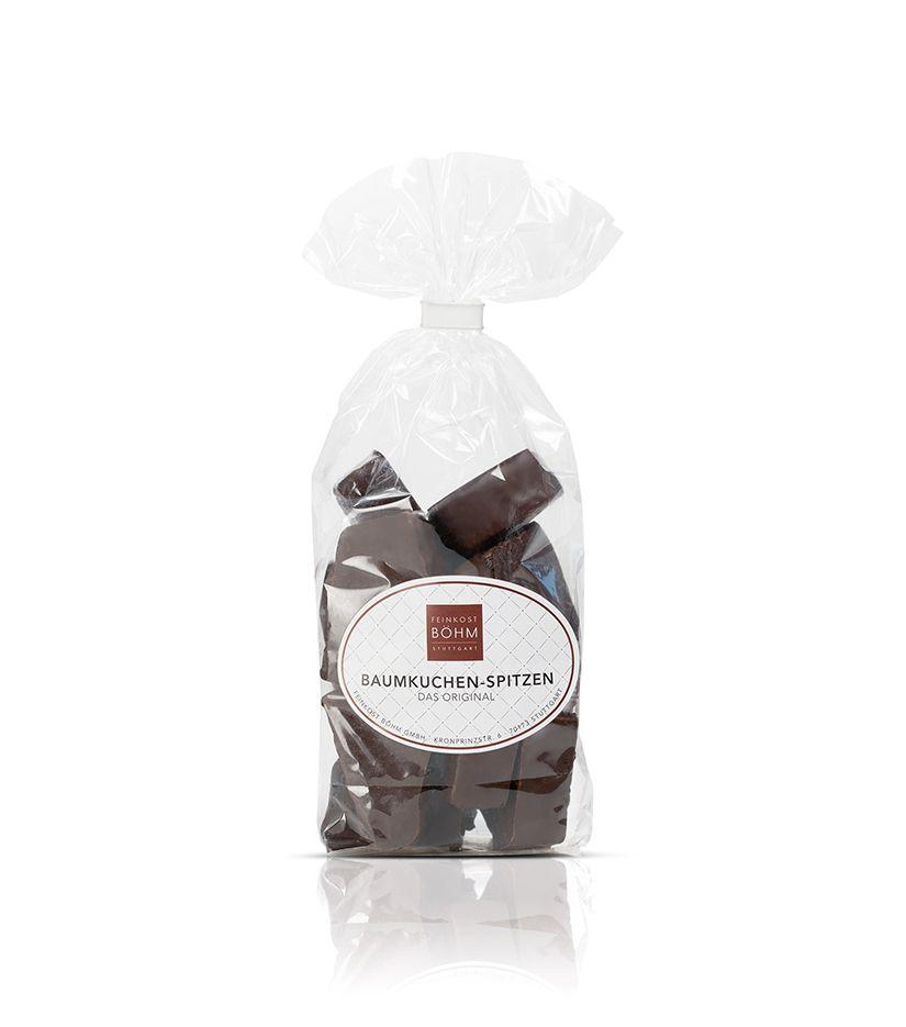 Baumkuchen Spitzen mit edler Zartbitterschokolade 150g