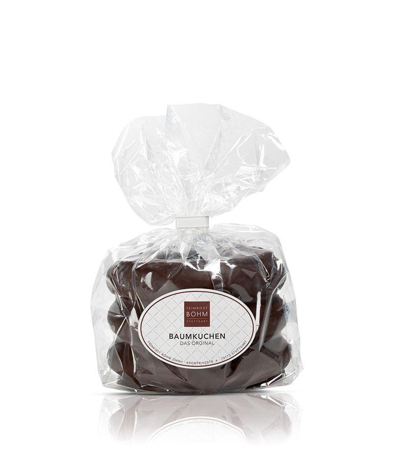 Baumkuchen-Ring mit edler Zartbitterschokolade 300g