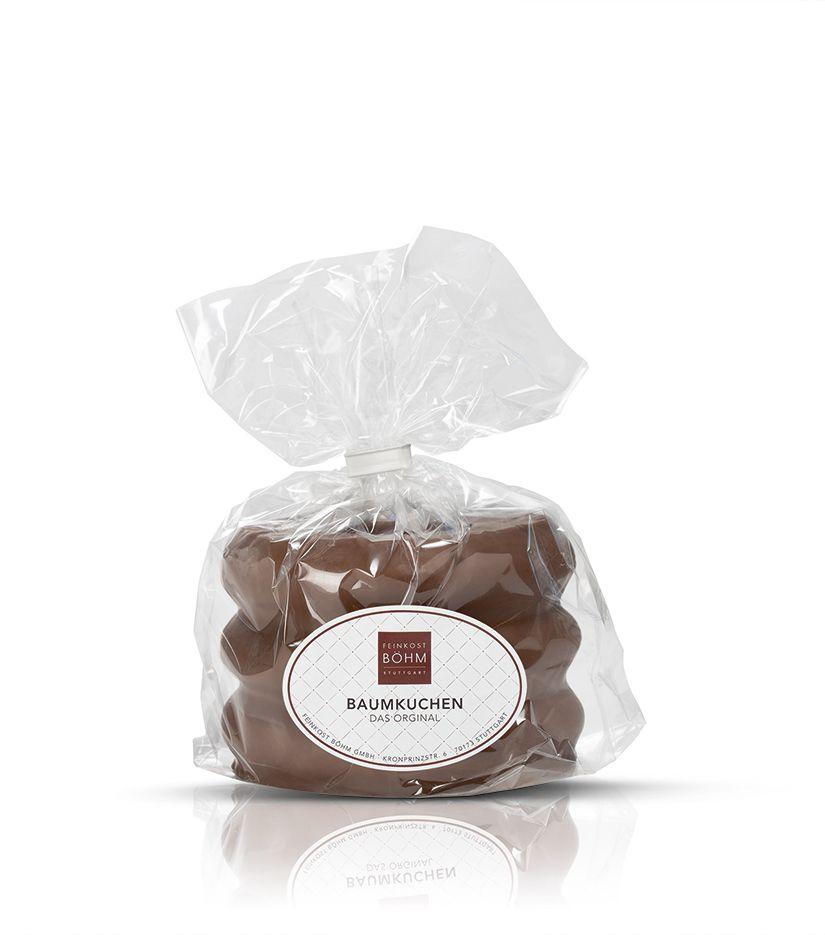 Baumkuchen-Ring mit edler Vollmilchschokolade 300g