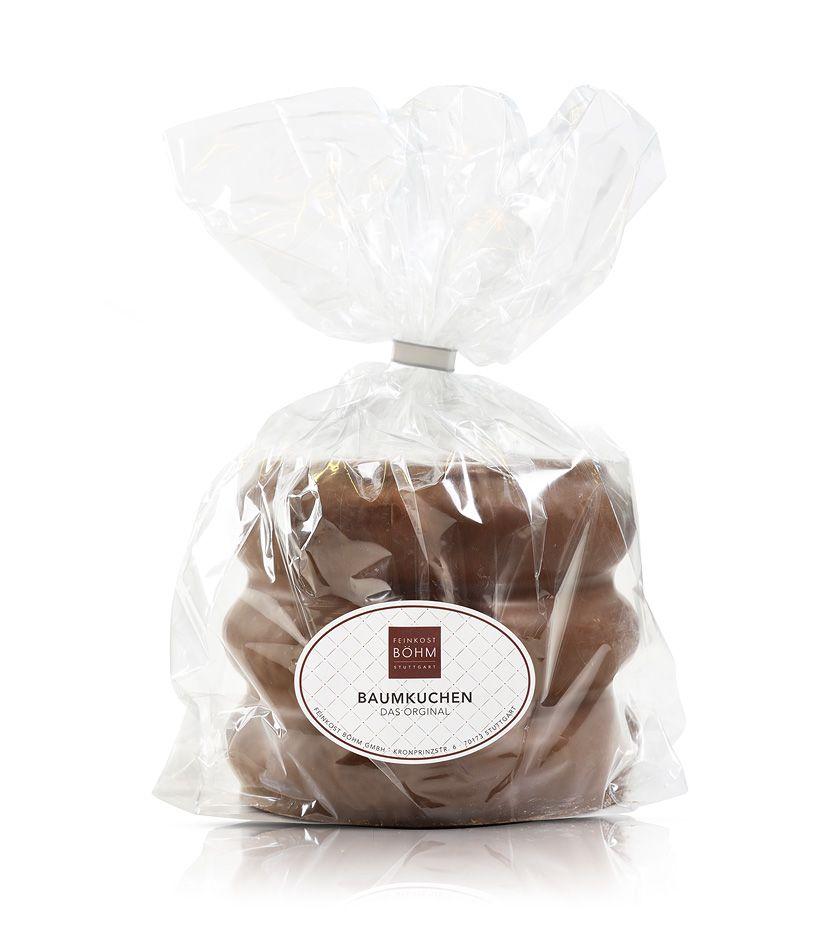 Baumkuchen-Ring mit edler Vollmichschokolade 450g