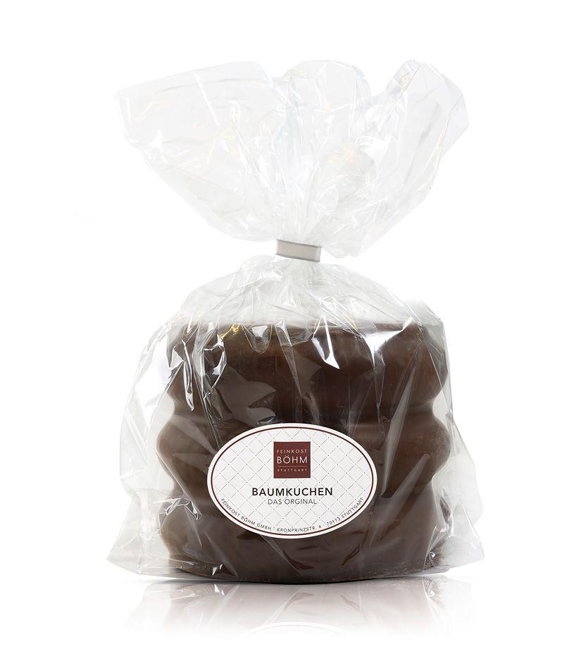 Baumkuchen-Ring mit edler Zartbitterschokolade 450g