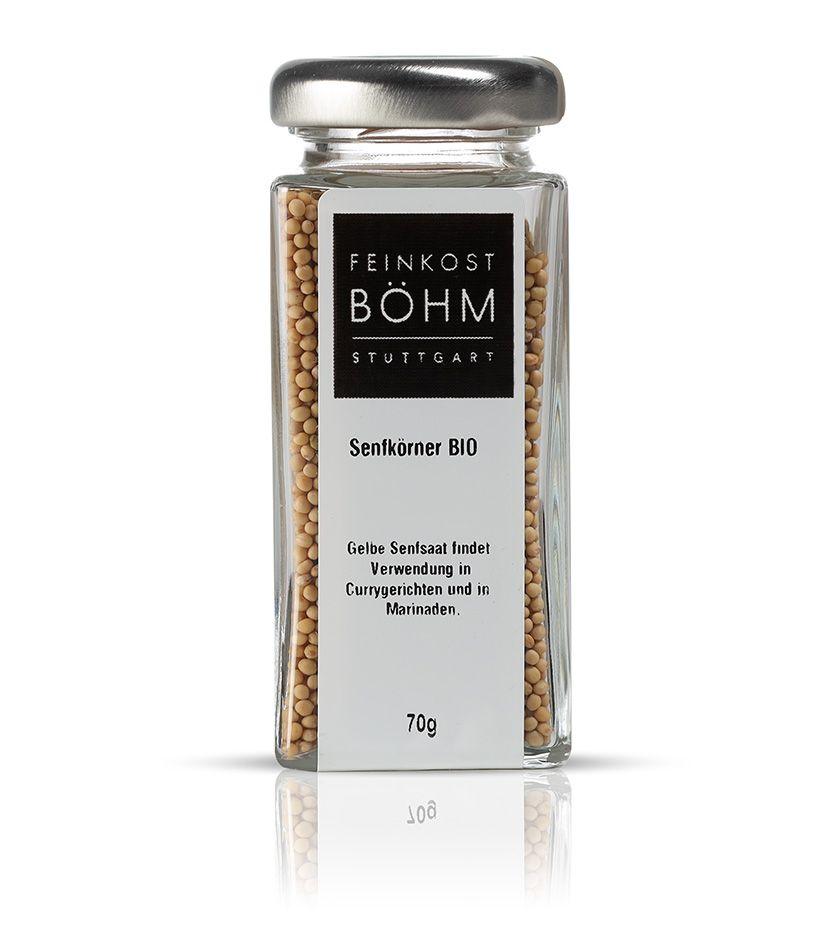 Feinkost Böhm Senfkörner 70g