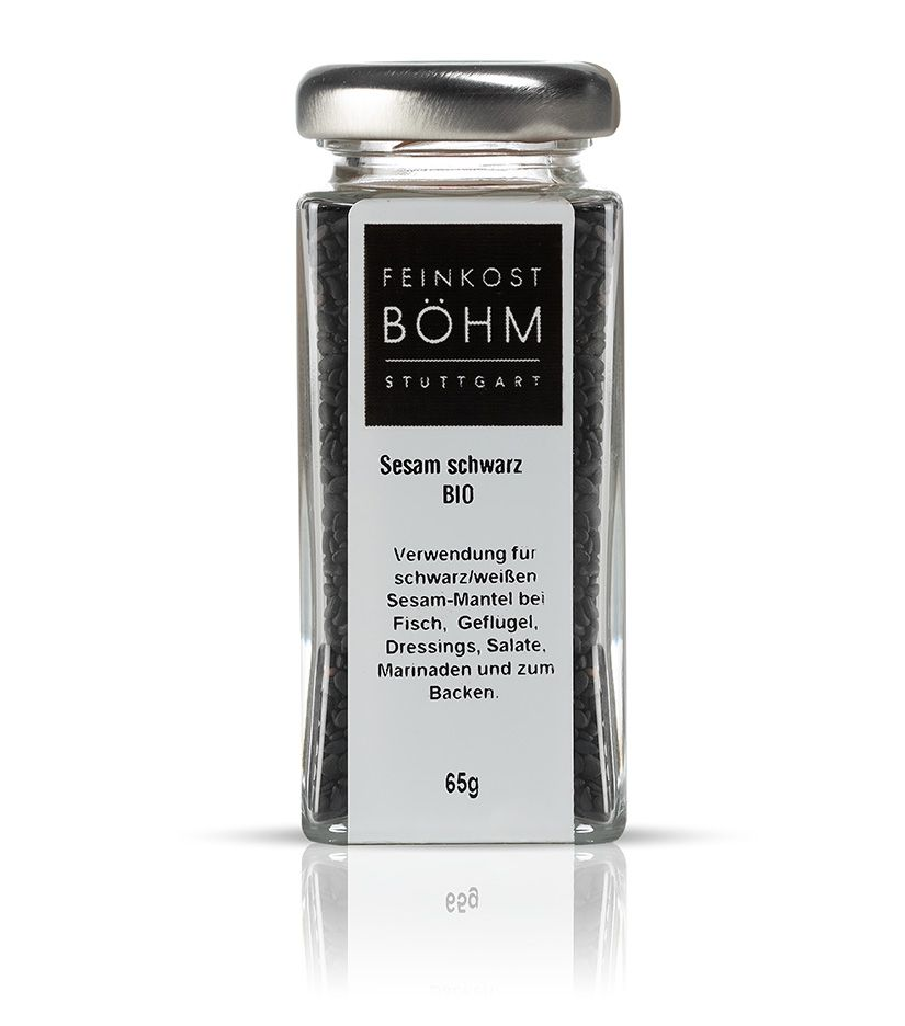 Feinkost Böhm Sesam schwarz 65g