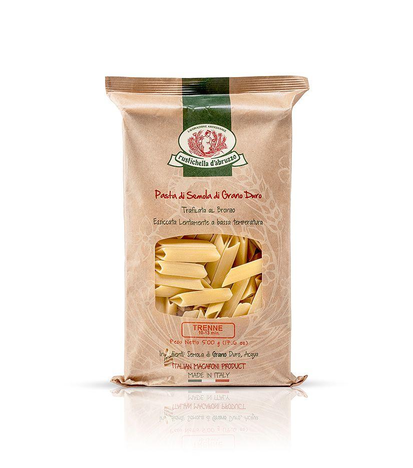 Rustichella d'Abruzzo Pasta di Semola di Grano Duro Trenne Nudeln 500g