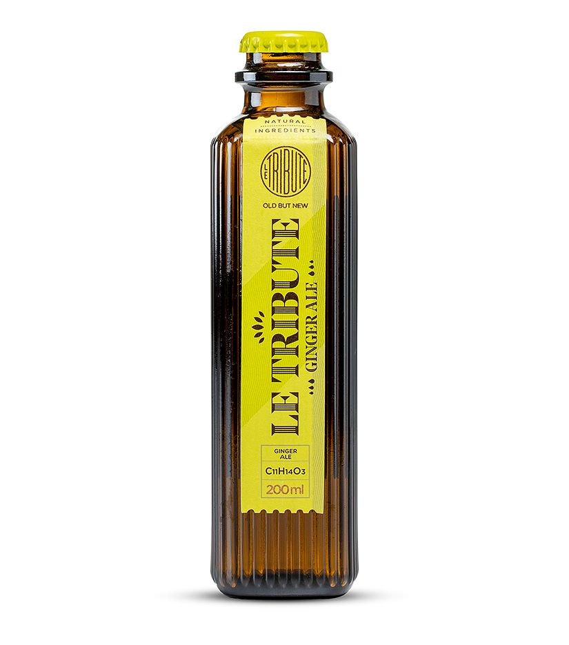 Le Tribute Ginger Ale Erfrischungsgetränk aus Extrakten 0,2l