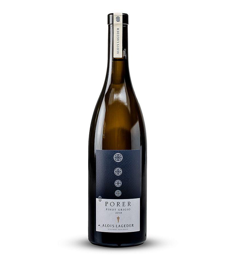 Alois Lageder Porer Pinot Grigio Weißwein 2018 0,75l