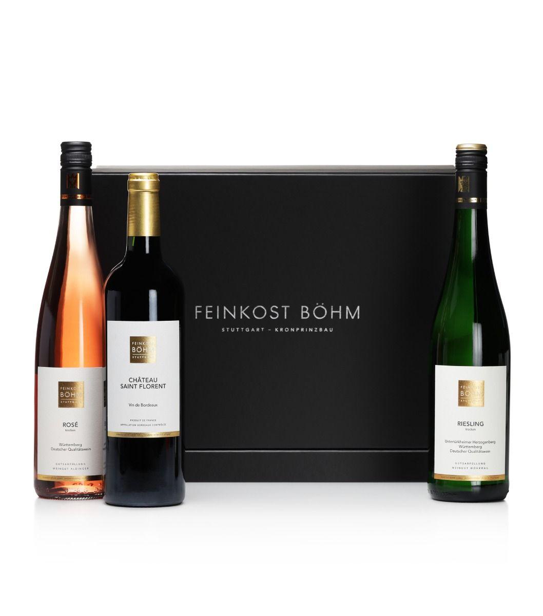 Geschenkbox Feinkost Böhm Triologie