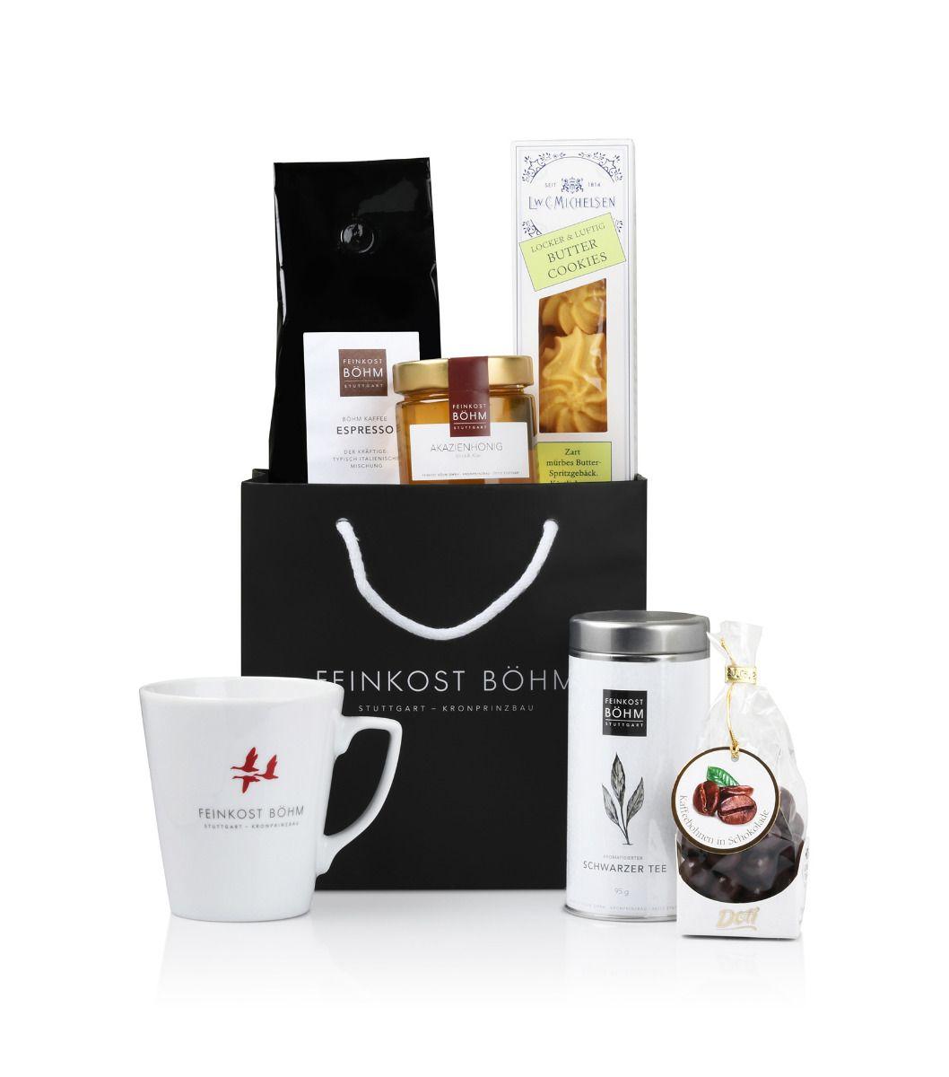 Geschenktüte Kaffee & Tee Genuss