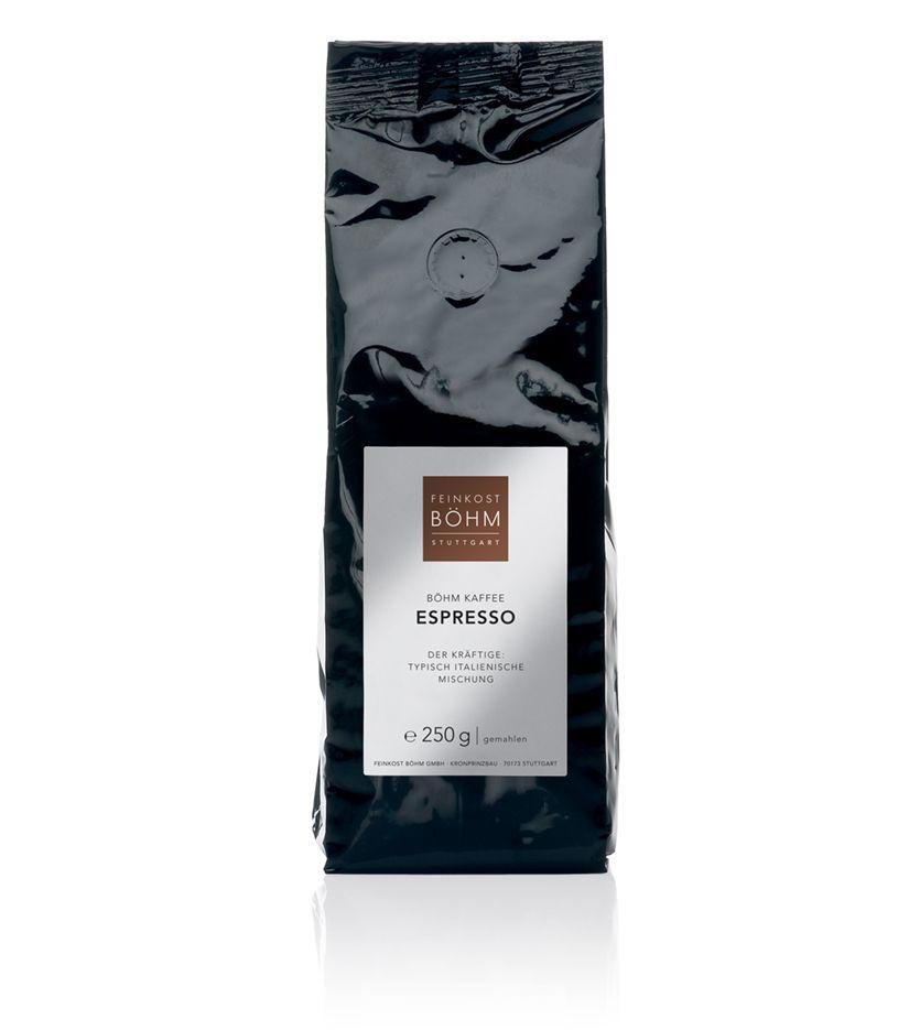 Feinkost Böhm Espresso Kaffee 250g gemahlen