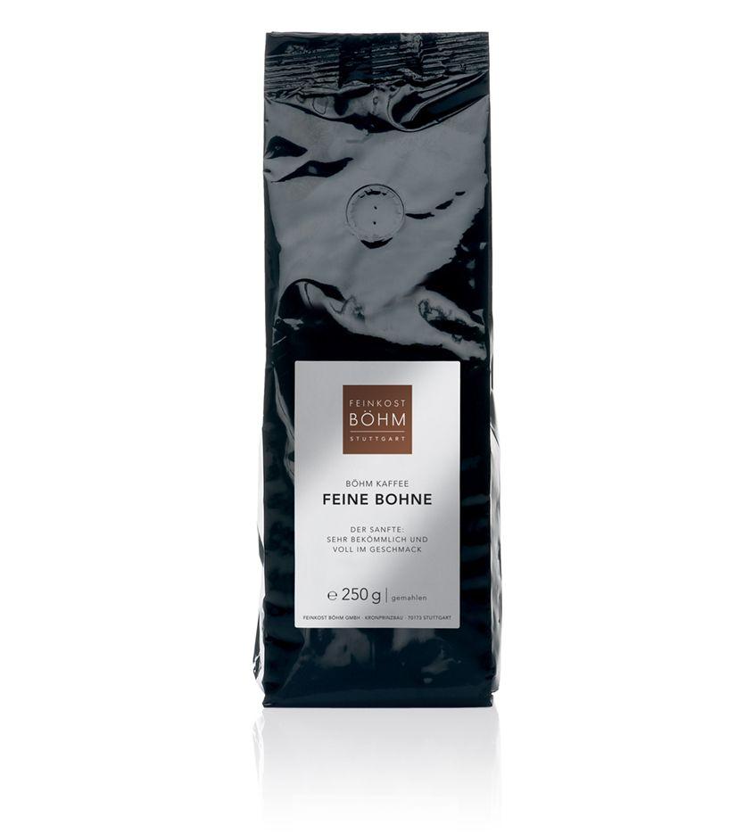 Feinkost Böhm Feine Bohne Kaffee gemahlen 250g