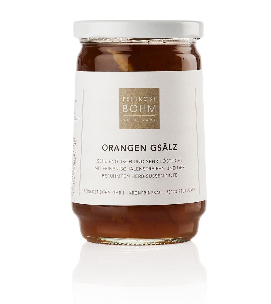 Feinkost Böhm Orangen Gsälz Marmelade 450g