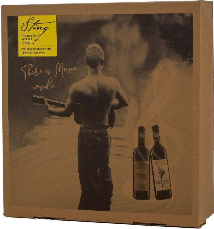 """Sting Paket Doppel LP 1 Fl. """"Sister Moon"""" und 1 Fl. """"Casino delle Vie"""" 2x0,75l Rotweine"""