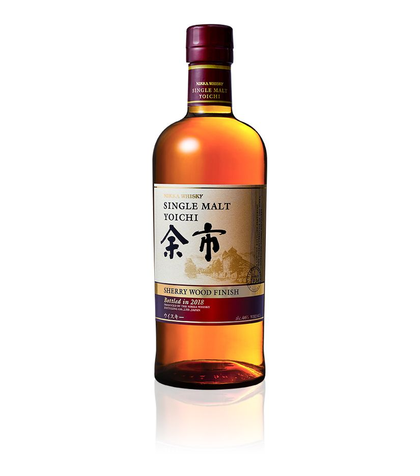 Nikka Whisky Single Malt Yoichi Sherry Finish Whisky 0,7l