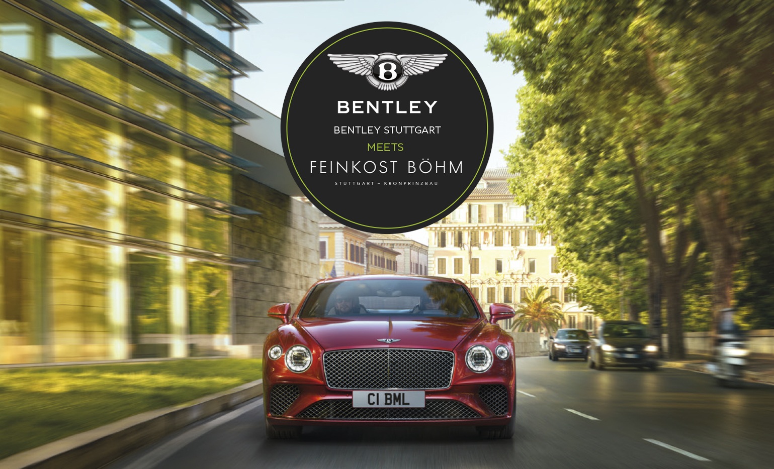 Bentley Stuttgart meets Feinkost Böhm