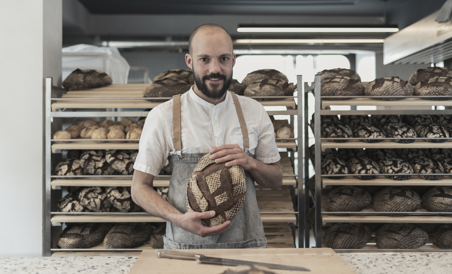 Bio Brote von Julius Brantner
