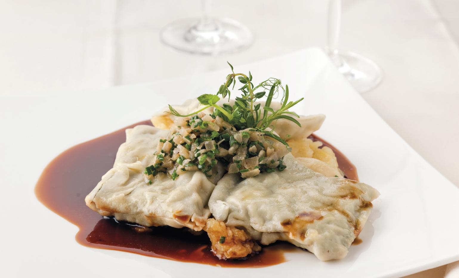 Böhm's Restaurant-Maultaschen