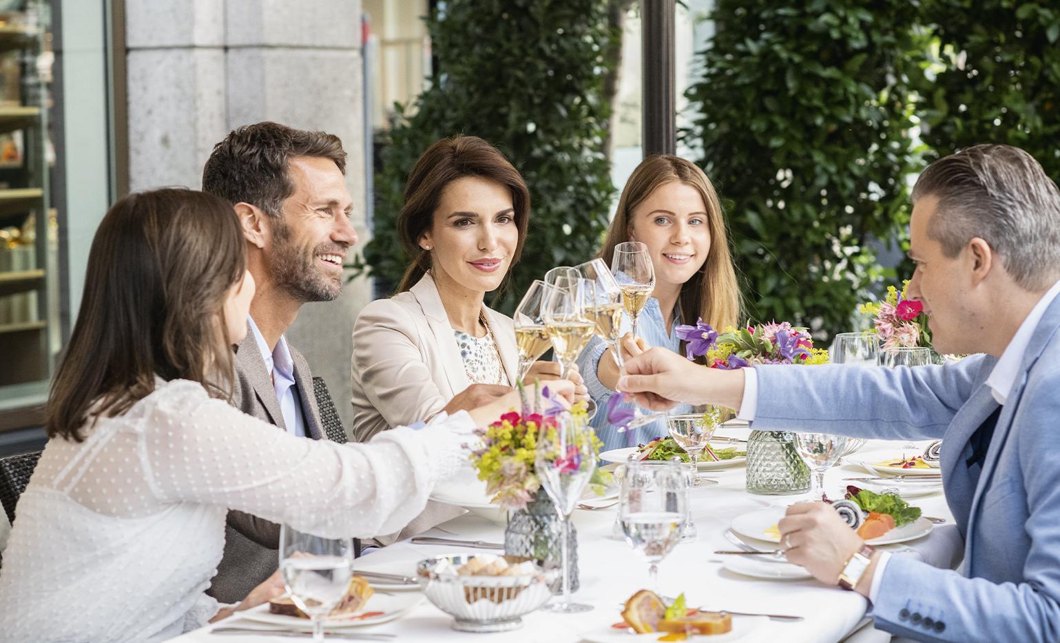 Gourmetküche entspannt interpretiert